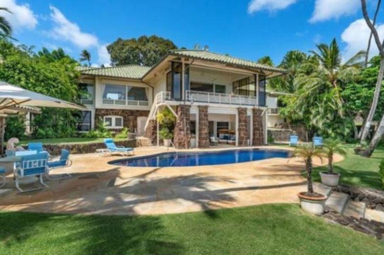 Jim Nabors' house located in Honolulu, Hawaii.