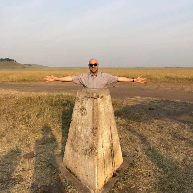 Ali Velshi is enjoying his Serengeti National Park in Tanzania.