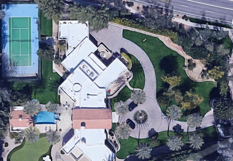 Charles Barkley's house located in Scottsdale, Arizona.