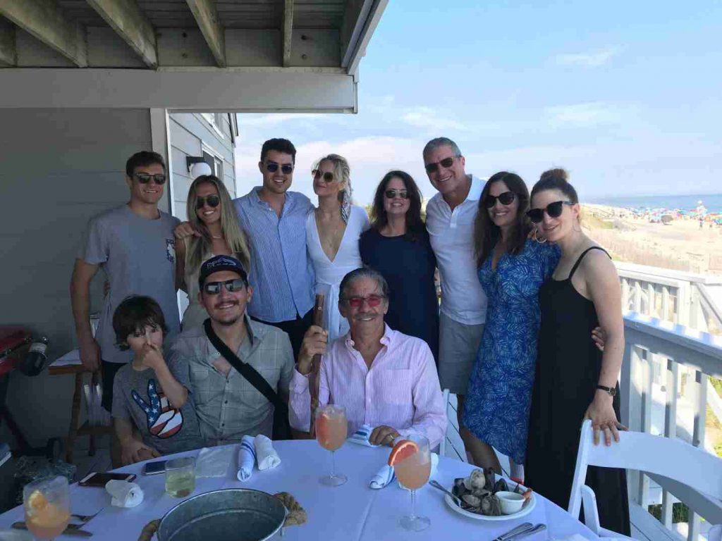 Erica Michelle Levy is enjoying a lovely time with her family.
