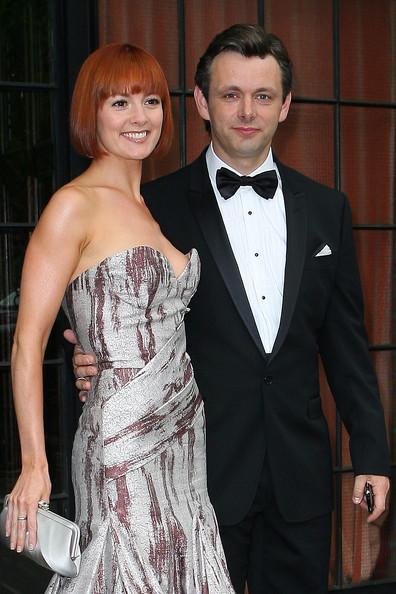 Michael with his ex-girlfriend, Lorraine