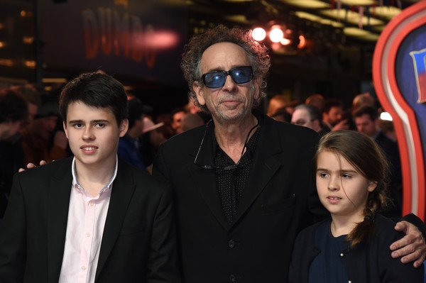 Billy with his father, Tim and his sister, Nell