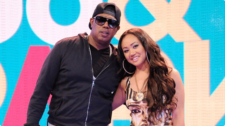 Master P with his formal wife Sonya C. Miller
