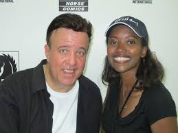 Tony Puryearwith his wife