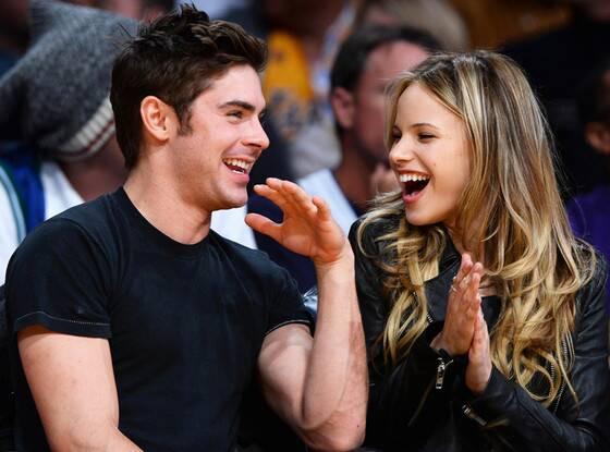 Halston Sage and her rumored boyfriend Zac Efron