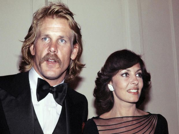 Nick with his first wife, Sheila
