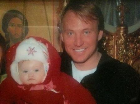 Natalie Gal's ex-husband Stuart Hagler and their daughter