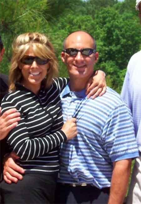 Alexandra Steele with her rumored husband Jim