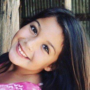 Olivia Olivarez in her childhood