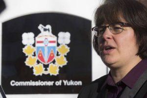 Angelique Bernard is the commissioner of Yukon.