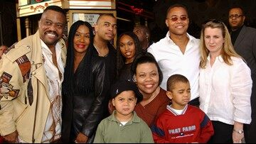 Ciba Gooding stated that he is very proud father of sons in the premiere where he appeared along with his family.