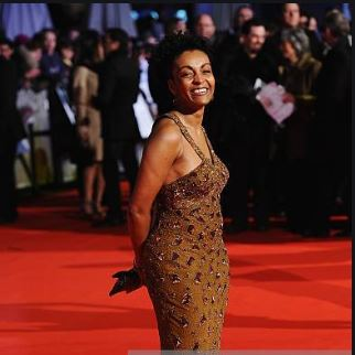 Andoh attends the UK premiere of Invictus at the Odeon West End on January 31, 2010 in London, England