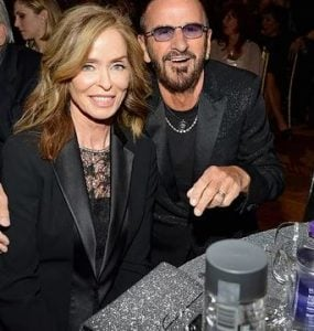 Barbara Bach with Ringo Starr