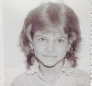 Childhood image of Barbara Plavin