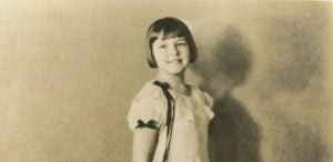 Childhood Image of Jack Kelly's famous sister, Nancy Kelly