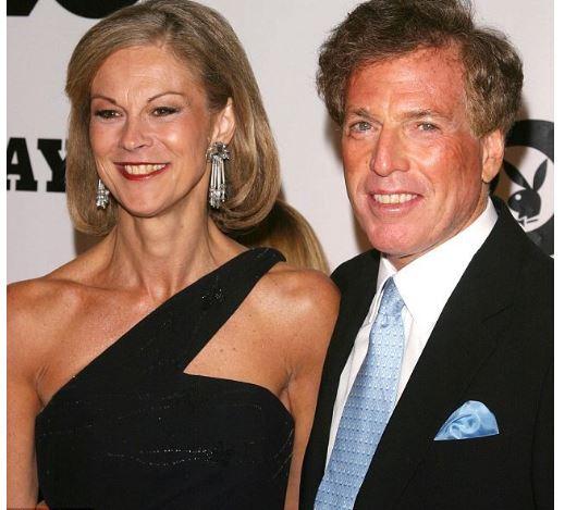 Christie Hefner and her husband