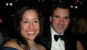 Desiree Jacqueline Guerzon along with her husband, Kevin Plank