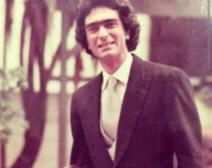 Francesca's father, Augusto Gregorini