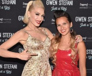 Heather Taddy with Gwen Stefani