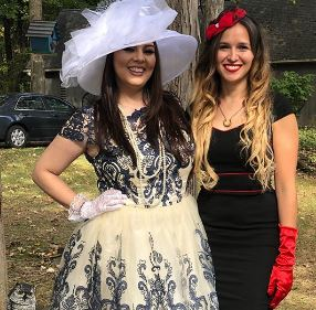 Heather with her co-star, Katrina Weidman