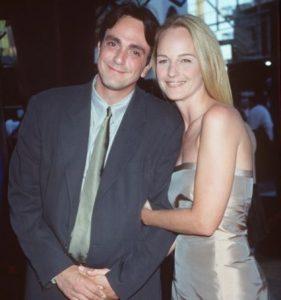 Helen Hunt with her ex-husband, Hank Azaria