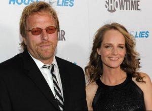 Helen Hunt with her ex-partner, Matthew Carnahan