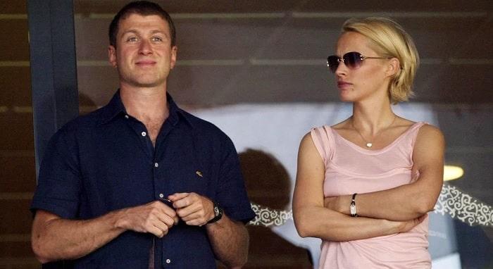 Roman Abramovich and his ex-wife Irina Malandina
