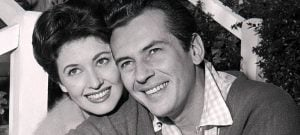 Jack Kelly with her ex-spouse, May Wynn