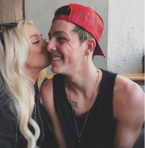 Kaylyn with her boyfriend Taylor source: Google