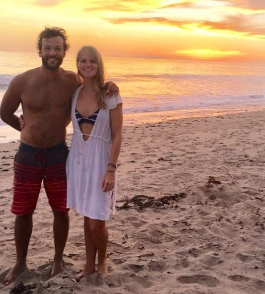 Kyle Schmid and girlfriend Meredith McBee