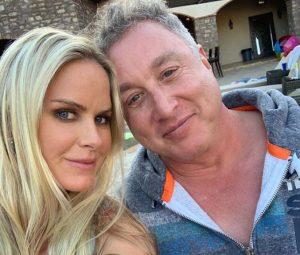 Nicole Dahm and her husband, Michael Kelly