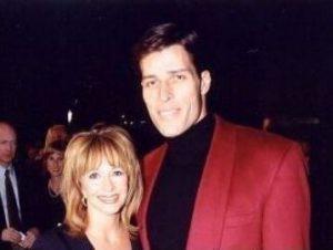 Tony with his ex-wife, Rebecca Jenkins