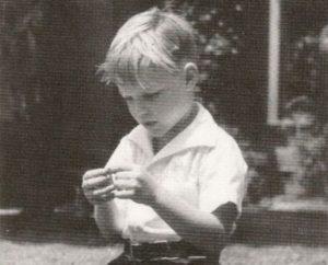 Childhood image of Richard Chamberlain