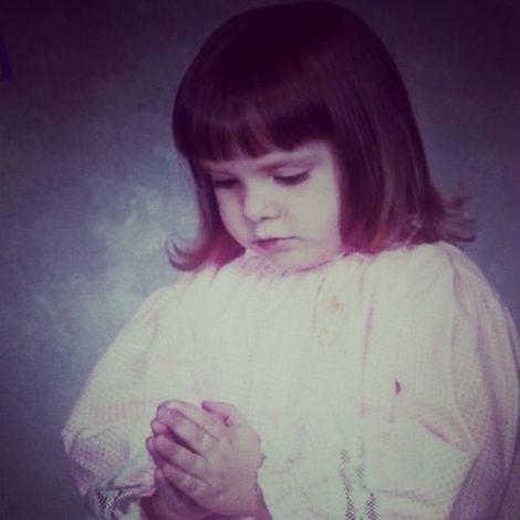 Leanza Cornett's childhood picture