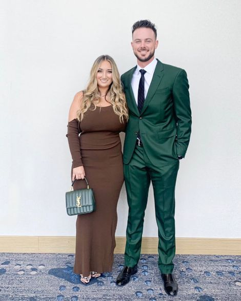 Jessica Delp with her husband