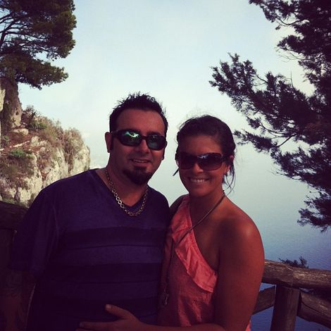 Karly Skladany and husband Chris Kirkpatrick