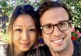 Stephanie Sy with her second husband David