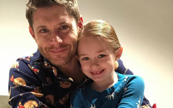 Justice Jay Ackles with her father