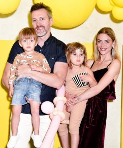 Jaime with her Husband and kids.