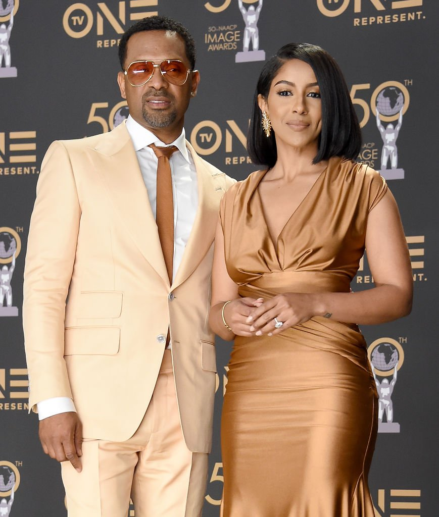 Mike Epps with his wife