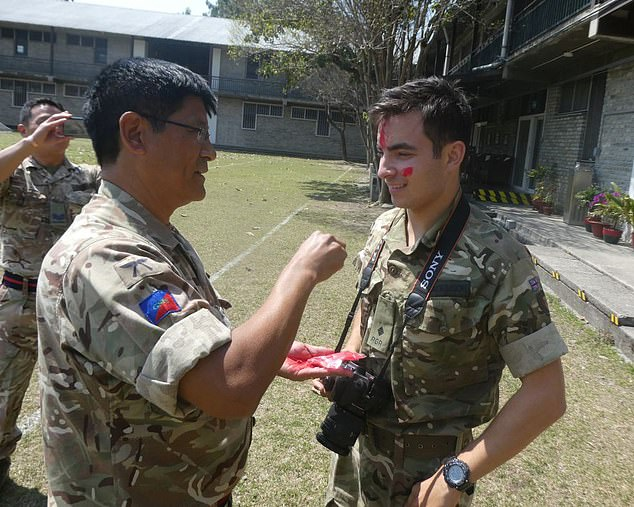 Benjamin Atkinson is working as a british army