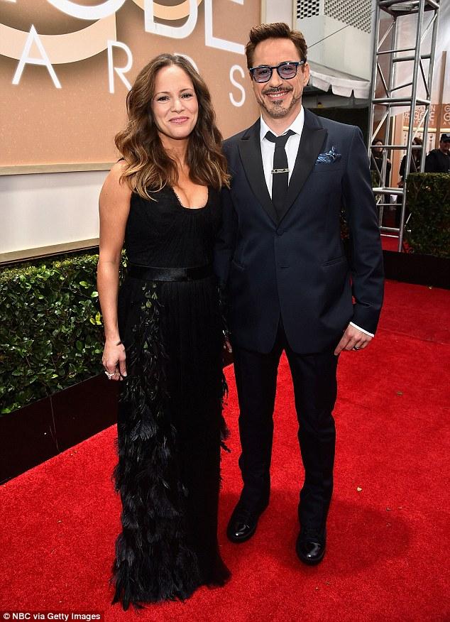 Robert Downey Jr and his wife Susan