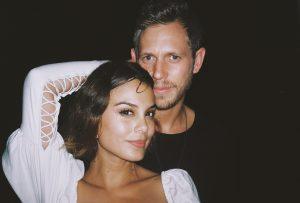 Nathalie with her husband Jordan.