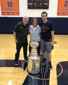 Mike with his wife Nanci and son Eric.
