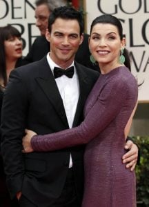 Keith with her actress wife Julianna.