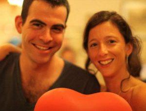 Monica Mosseri and his spouse, Adam Mosseri