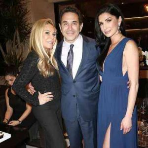 Brittany Pattakos (right), Paul Nassif (center), and Adrienne Maloof (left)