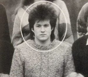 An early life picture of Jony Ive