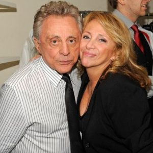 Antonia Valli with her father, Frankie Valli