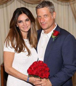 Beth Shak with her former husband, Rick Leventhal